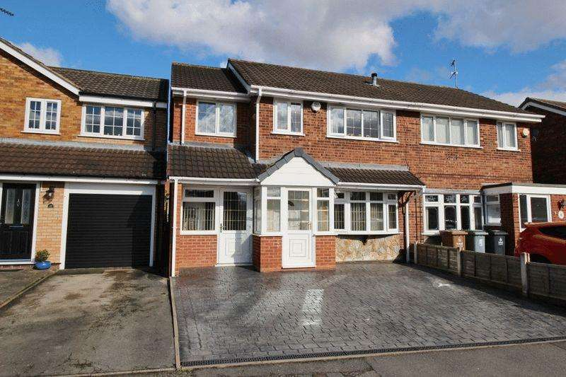 5 Bedrooms Semi Detached House for sale in Dursley Close, Off Stroud Avenue, Willenhall