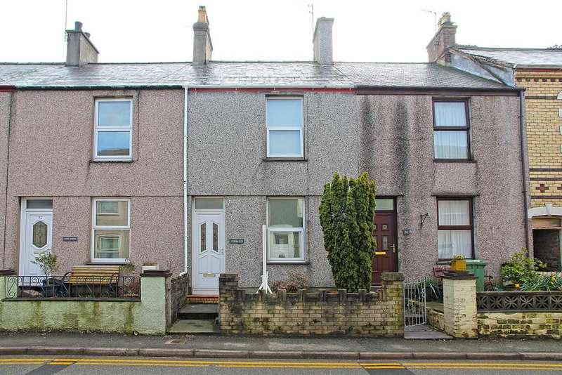 2 Bedrooms Terraced House for sale in Bangor Street, Y Felinheli, North Wales
