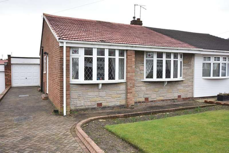 2 Bedrooms Semi Detached Bungalow for sale in Marlborough Road, Hastings Hill