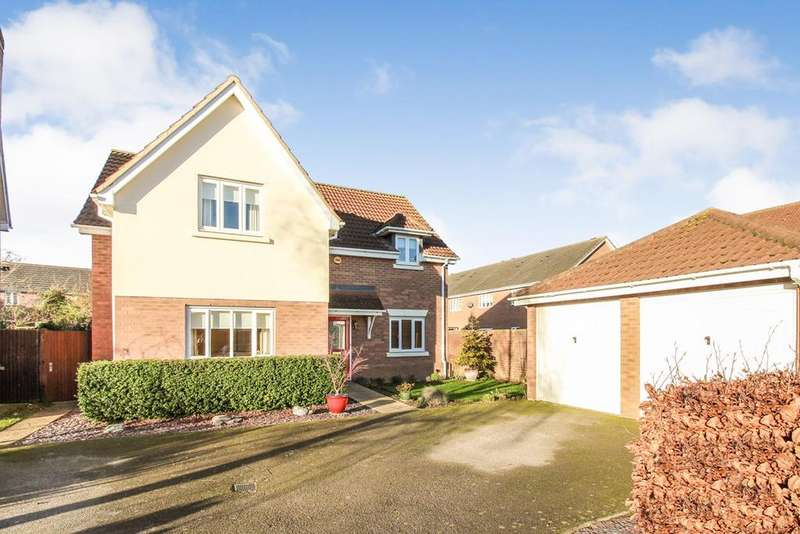 4 Bedrooms Detached House for sale in Flight Path, Flight Path, SG16