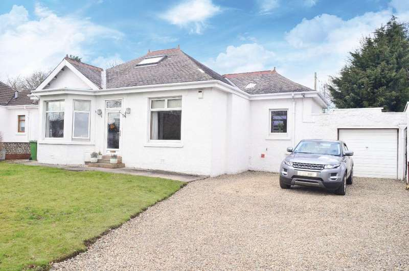 3 Bedrooms Detached Bungalow for sale in Menock Road, Kings Park, Glasgow, G44 5UT
