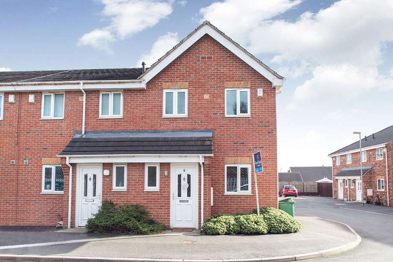 3 Bedrooms Terraced House for rent in Milton Gardens, Featherstone, Pontefract, WF7