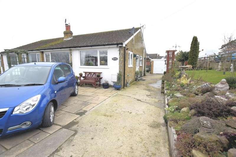 2 Bedrooms Semi Detached Bungalow for sale in Lairs Lane, Snainton, Scarborough, North Yorkshire YO13 9AH
