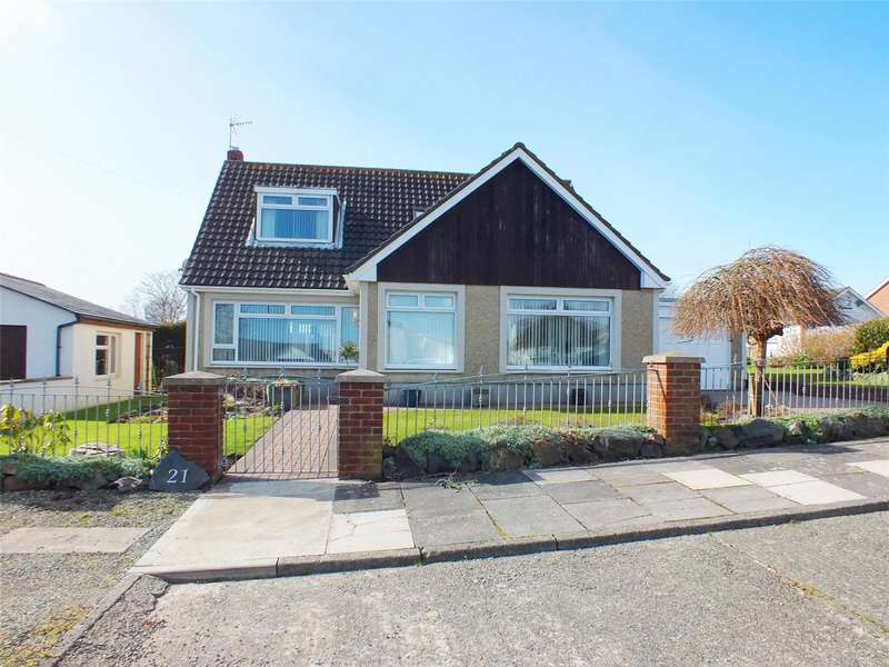 3 Bedrooms Detached Bungalow for sale in Steynton Road, Milford Haven, Pembrokeshire