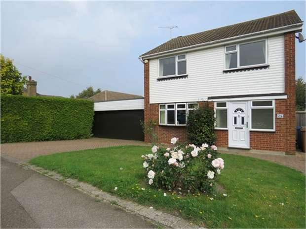 4 Bedrooms Detached House for sale in Highsted Road, SITTINGBOURNE, Kent