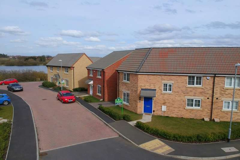 3 Bedrooms Semi Detached House for sale in Mayfly Road, Dragonfly Meadows, Northampton, NN4