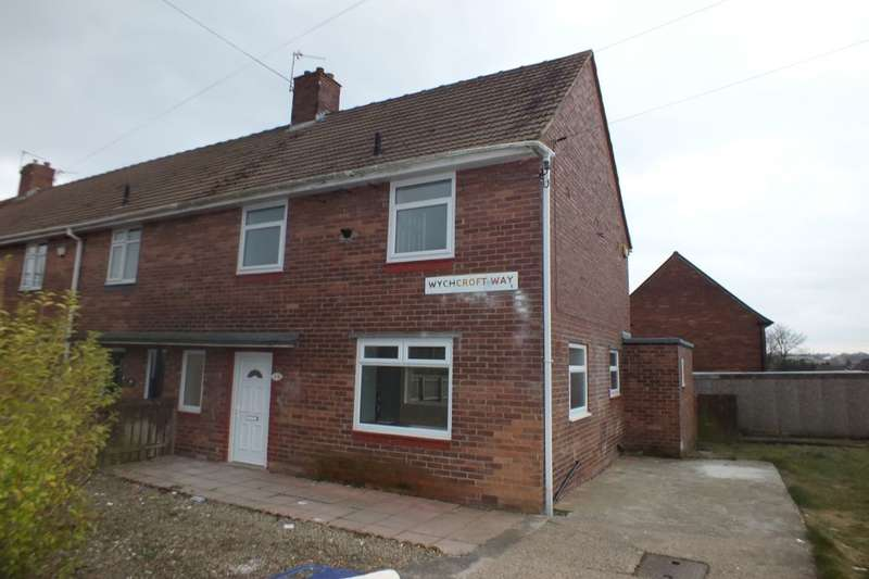 3 Bedrooms Semi Detached House for sale in Wychcroft Way, Newcastle Upon Tyne, NE5