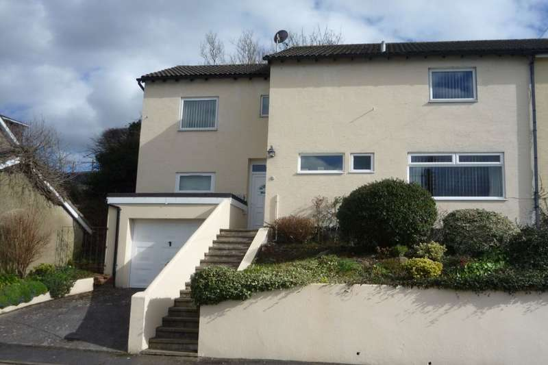 4 Bedrooms Semi Detached House for sale in Crossley Moor Road, Kingsteignton, Newton Abbot, TQ12