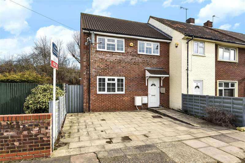 3 Bedrooms End Of Terrace House for sale in Great Central Avenue, South Ruislip, Middlesex, HA4