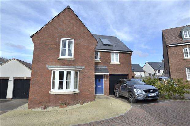 4 Bedrooms Detached House for sale in Oak View, Hardwicke, GLOUCESTER, GL2 4AT