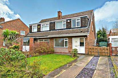 3 Bedrooms Semi Detached House for sale in Overton Way, Oxton, Wirral, CH43