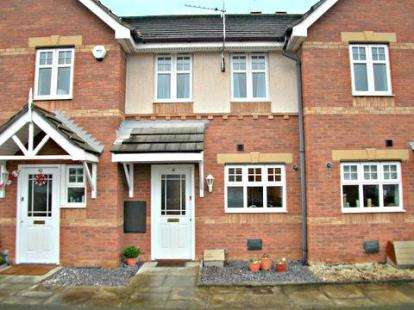 2 Bedrooms Terraced House for sale in Hampton Chase, Noctorum, Wirral, CH43