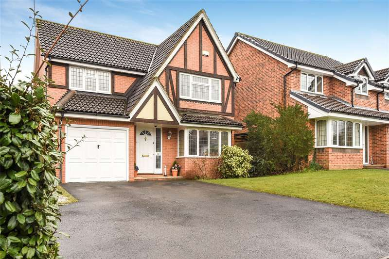 4 Bedrooms Detached House for sale in Shakespeare Way, Warfield, Berkshire, RG42