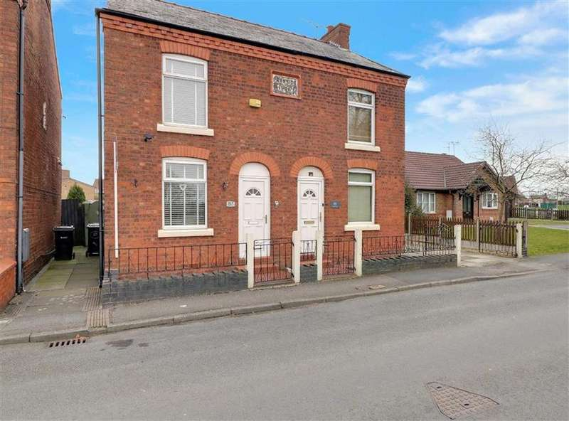 2 Bedrooms Semi Detached House for sale in Ledward Street, Winsford, Cheshire