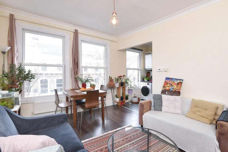 2 Bedrooms Flat for sale in Netherwood Road, Brook Green