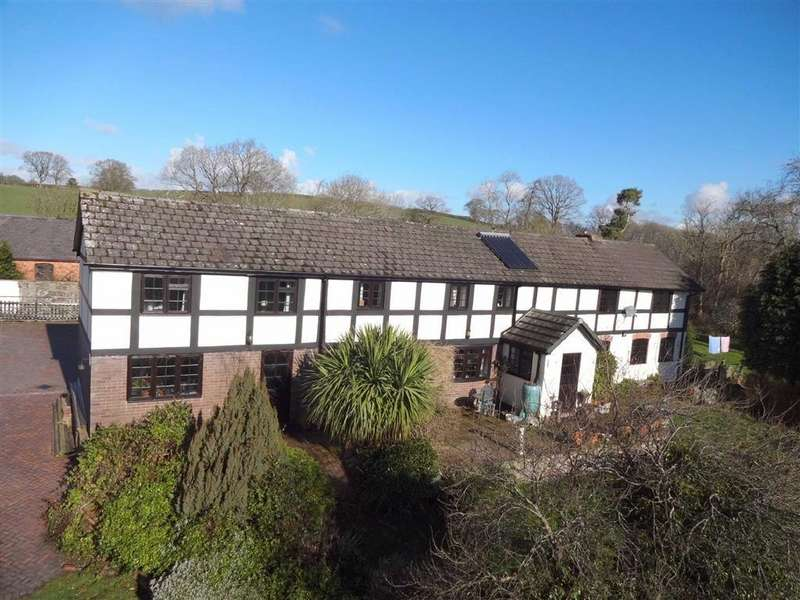 4 Bedrooms Detached House for sale in Penbryn, Moelygarth, Welshpool, Powys, SY21
