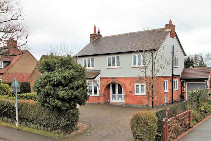 4 Bedrooms Detached House for sale in Leicester Road, Ravenstone