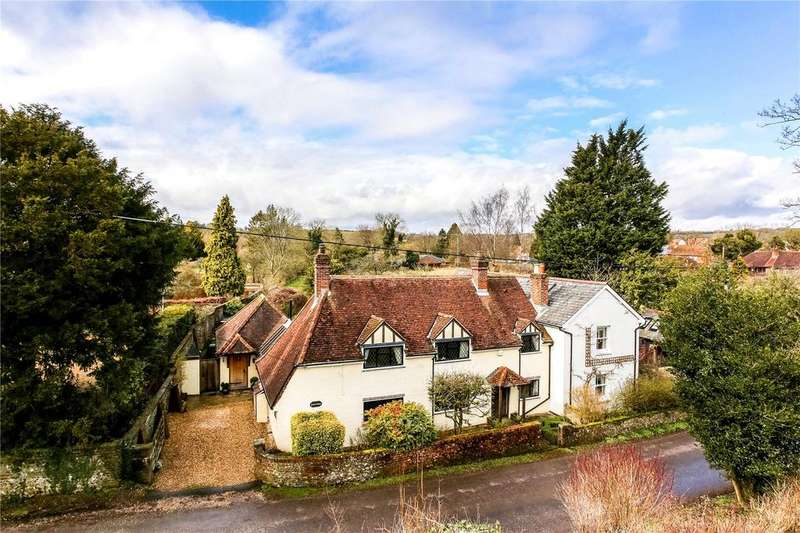 4 Bedrooms Detached House for sale in Rectory Lane, Meonstoke, Southampton, SO32