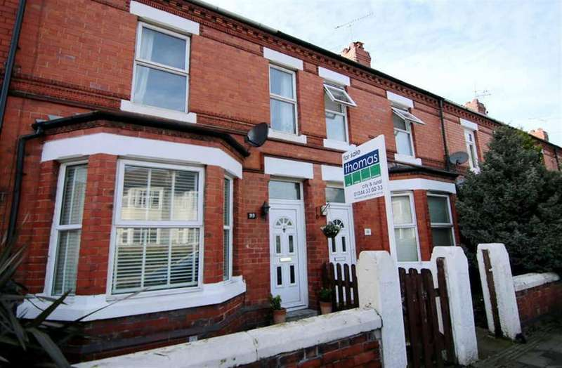 3 Bedrooms Terraced House for sale in Ermine Road, Chester