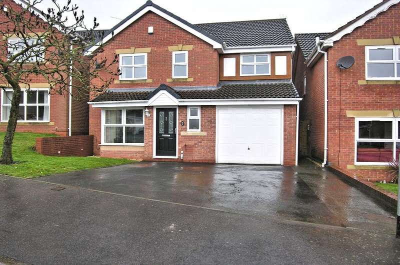 4 Bedrooms Detached House for sale in HAYLE CLOSE, SAXONFIELDS, STAFFORD ST17