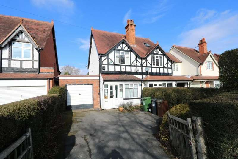 2 Bedrooms Semi Detached House for sale in Aylesbury Road, Hockley Heath