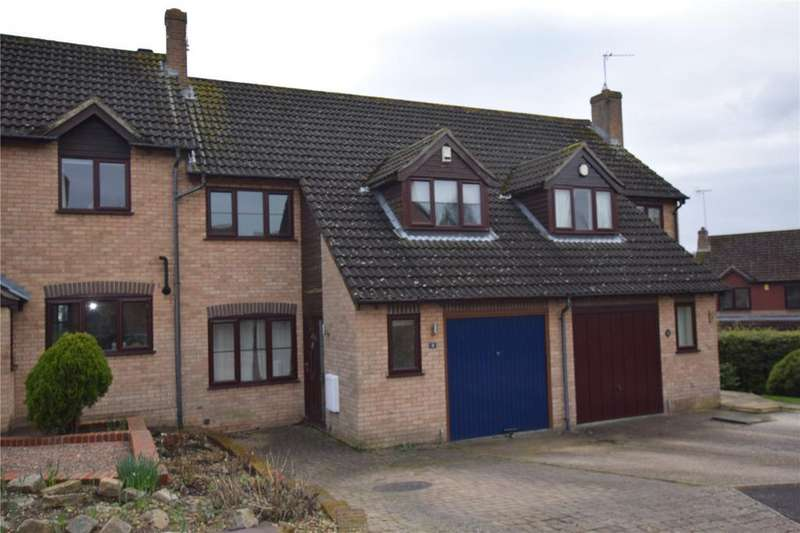 3 Bedrooms Terraced House for sale in Sorrel Close, Burghfield Common, Reading, RG7