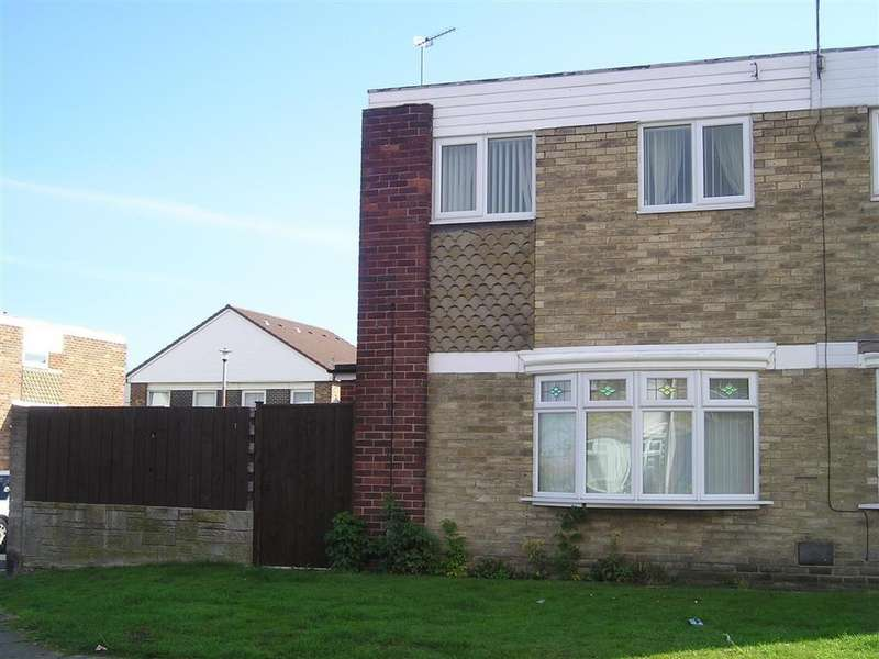 3 Bedrooms Semi Detached House for sale in Dryden Close, South Shields, South Shields