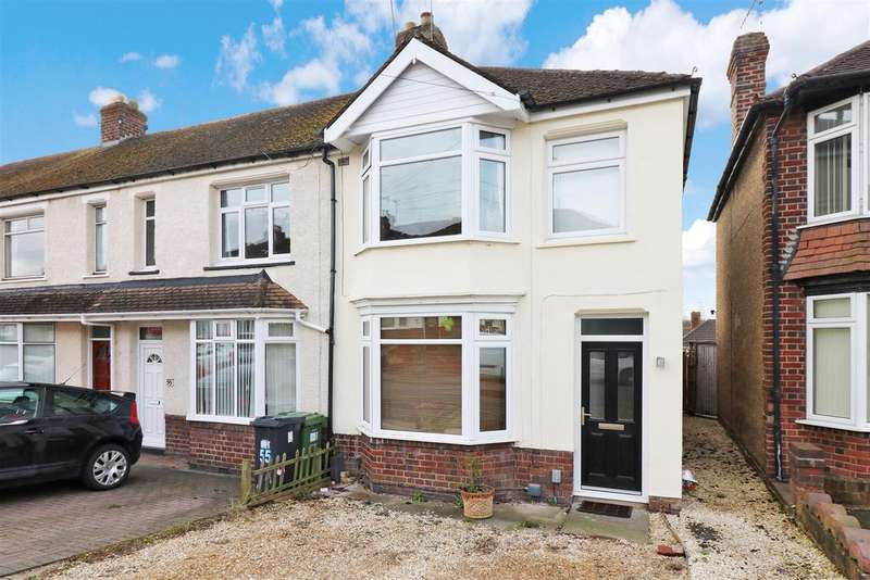 3 Bedrooms End Of Terrace House for sale in Hanworth Road, Warwick