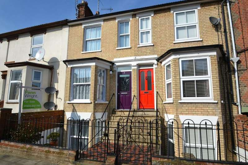 3 Bedrooms Town House for sale in Cemetery Road, Ipswich, IP4 2ER
