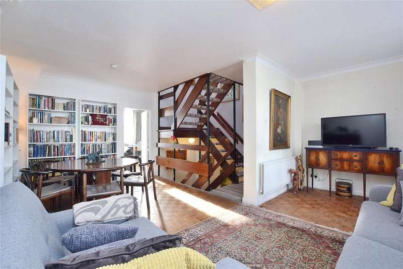 4 Bedrooms Semi Detached House for sale in Brocas Close, Kilburn, London, NW3
