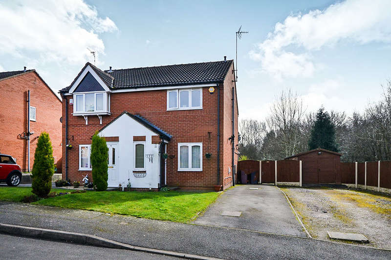 2 Bedrooms Semi Detached House for sale in Birchen Holme, South Normanton, Alfreton, DE55