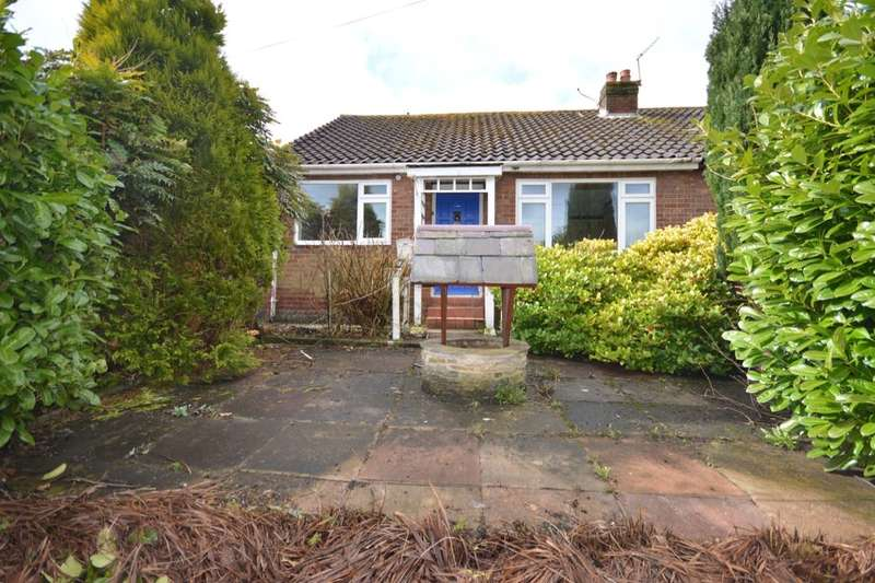 2 Bedrooms Semi Detached Bungalow for sale in Brooklands Road, Upholland, Skelmersdale, WN8