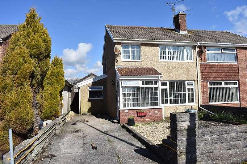 3 Bedrooms Semi Detached House for sale in Merlin Crescent, Cefn Glas, Bridgend. CF31 4QW