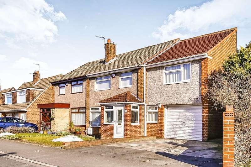 4 Bedrooms Semi Detached House for sale in Danelaw, Great Lumley, Chester Le Street, DH3