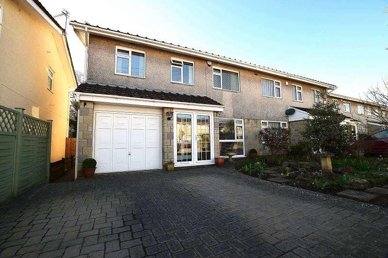 4 Bedrooms Semi Detached House for sale in Blaen-Y-Coed , Rhiwbina, Cardiff. CF14 6LL