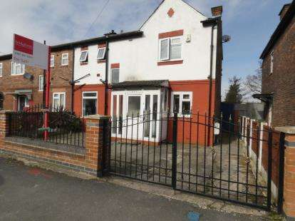 3 Bedrooms End Of Terrace House for sale in Ayres Road, Manchester, Greater Manchester