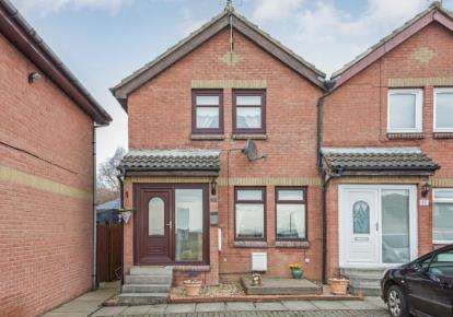 2 Bedrooms Semi Detached House for sale in Carlisle Road, Cleland