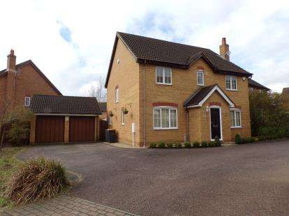 4 Bedrooms Detached House for sale in Embla Close, Bedford, Bedfordshire