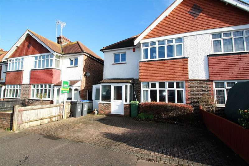 3 Bedrooms Semi Detached House for sale in Reigate Road, Worthing, West Sussex, BN11