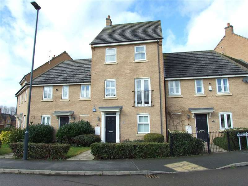 4 Bedrooms Town House for sale in Montague Way, Chellaston, Derby, Derbyshire, DE73