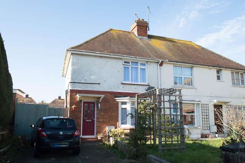 3 Bedrooms Semi Detached House for sale in Churchdale Avenue, Eastbourne