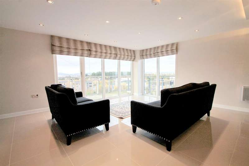 3 Bedrooms Apartment Flat for sale in Victoria Wharf, Watkiss Way, Cardiff Bay