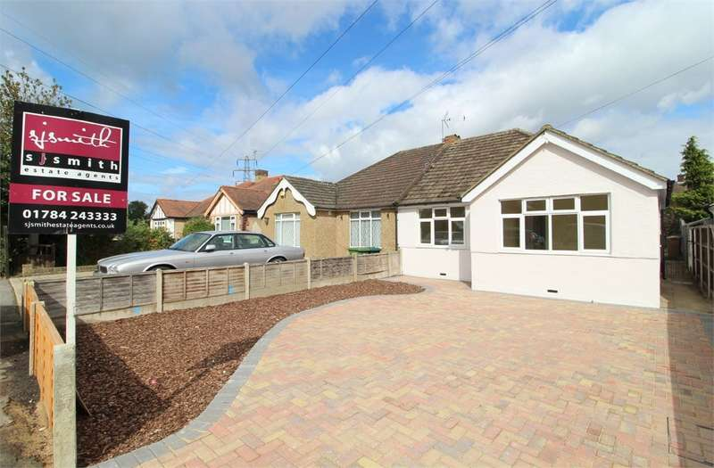 3 Bedrooms Semi Detached Bungalow for sale in Kingston Road, Ashford, TW15