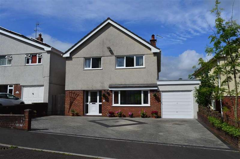 4 Bedrooms Detached House for sale in Southerndown Avenue, Mayals, Swansea