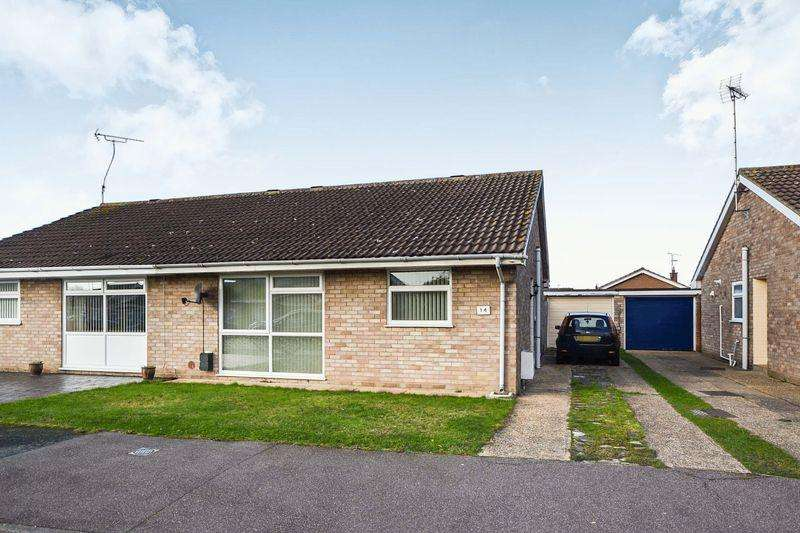 2 Bedrooms Semi Detached Bungalow for sale in Crome Road, Clacton-On-Sea