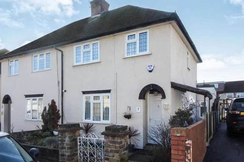 3 Bedrooms Semi Detached House for sale in Wharf Road, Wormley, Broxbourne, Herts EN10