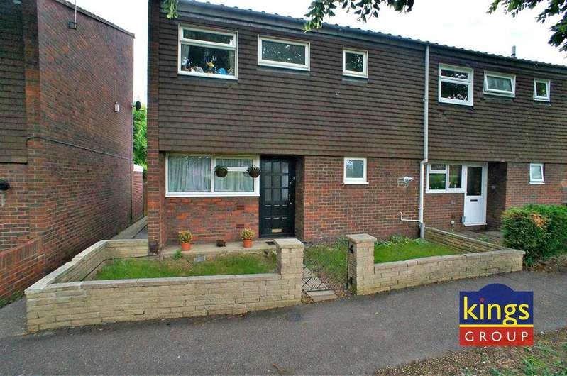3 Bedrooms End Of Terrace House for sale in Newhall Court, Waltham Abbey