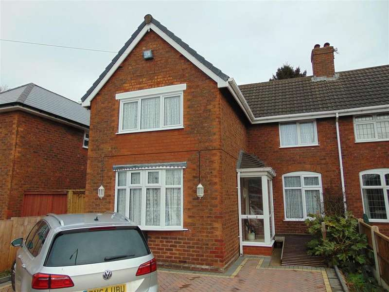 3 Bedrooms Semi Detached House for sale in Somerfield Road, Walsall