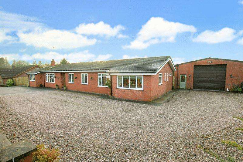 5 Bedrooms Detached Bungalow for sale in Kestrel Drive, Loggerheads, Market Drayton