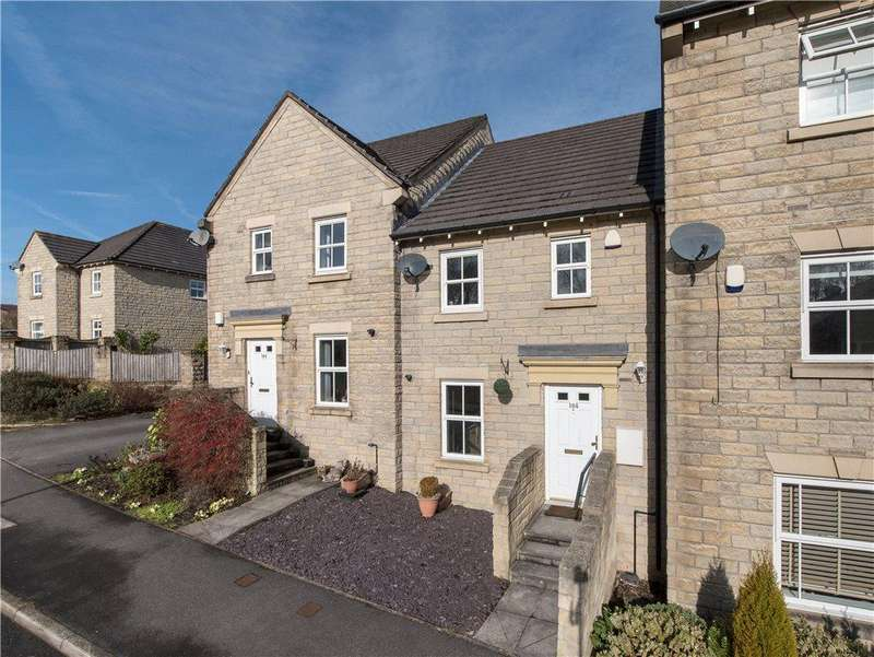 3 Bedrooms Town House for sale in Swan Avenue, Gilstead, West Yorkshire